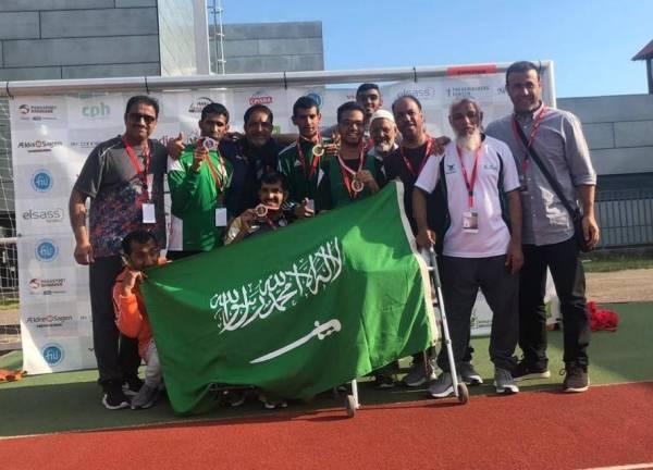 «نادي الشرقية» يختتم بطولة الدنمارك بسبع ميداليات