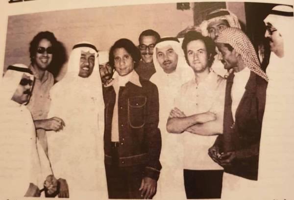 الأولى من نوعها.. عبدالحليم حافظ يزور «عكاظ» قبل 44 عاماً