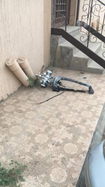 «مدني خميس مشيط» يباشر بلاغ سقوط شظايا طائرة «مسيّرة» على مبنى سكني