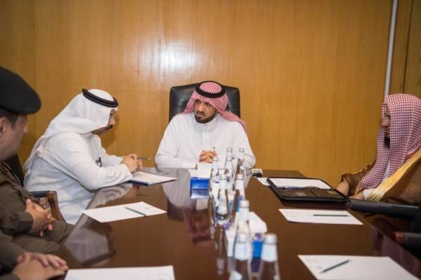 وكيل إمارة الجوف يرأس اجتماع اللجنة التنفيذية للحج