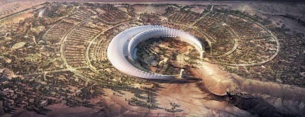 لقطة تصورية لمشروع حدائق الملك عبدالله العالمية.