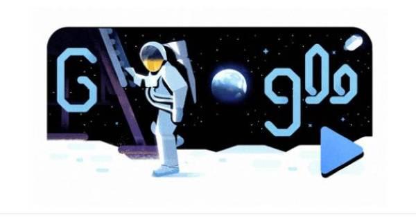قوقل تحتفل بالذكرى السنوية الـ 50 للهبوط على القمر