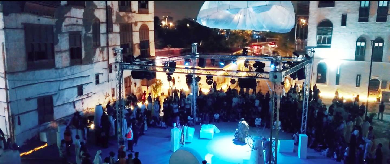 شهدت «ساحة التعبير» إقبالا كثيفاً من الجمهور.