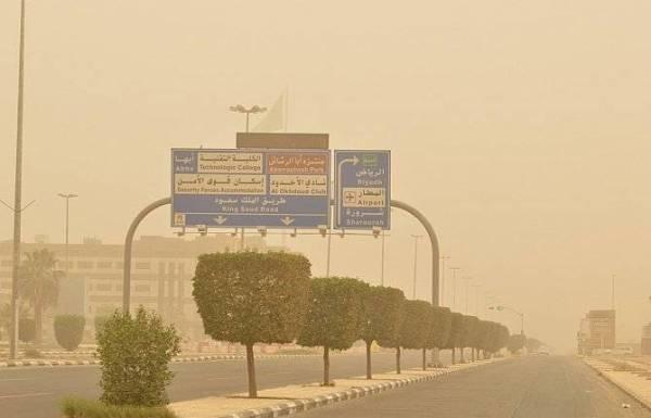 غبار على 5 مناطق اليوم.. «الأربعاء»
