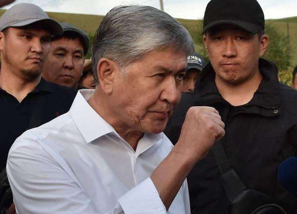 رئيس قرغيزستان السابق