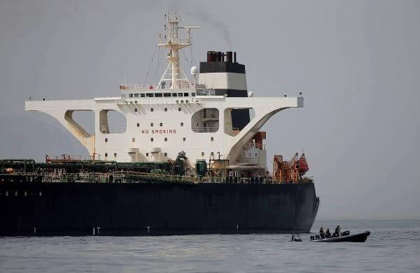 ناقلة النفط الإيرانية «جريس 1»