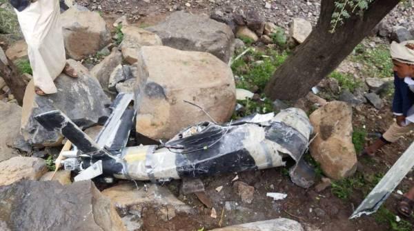 التحالف: سقوط طائرة حوثية مفخخة من دون طيار على المدنيين في عمران