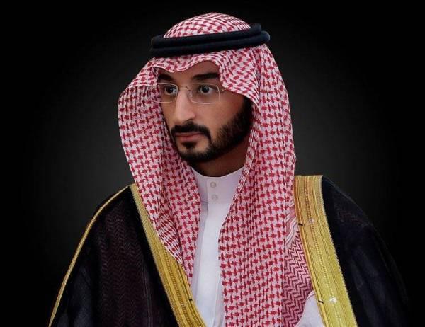 وزير الحرس الوطني الأمير عبدالله بن بندر