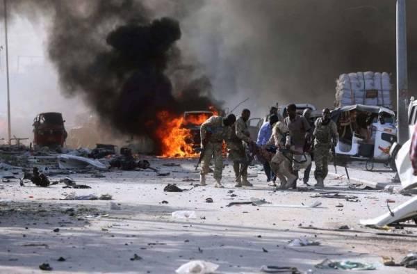 تفجير سابق في الصومال