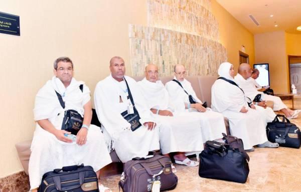 عدد من ضيوف خادم الحرمين الشريفين.