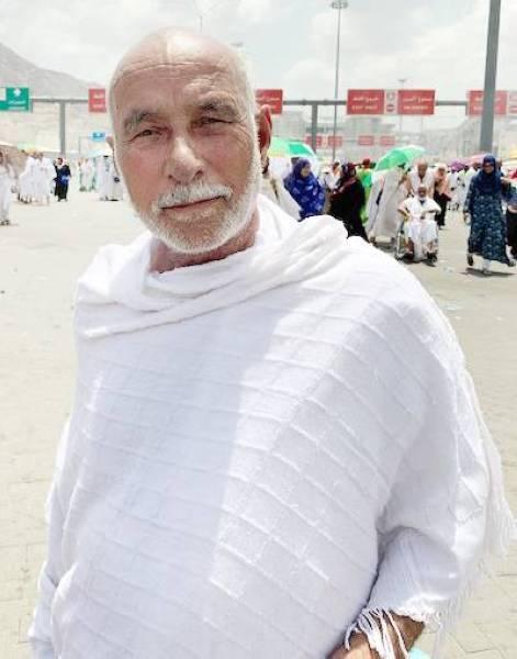 الحاج العراقي جبر صيوان.