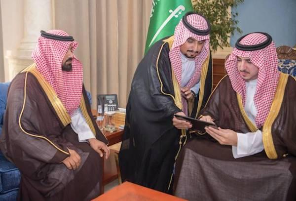 أمير الجوف يدشن مؤشر جودة الهواء في المنطقة
