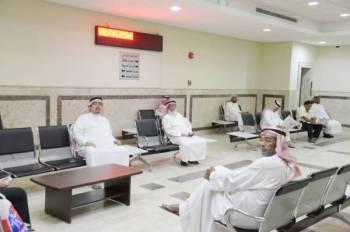 صورة سابقة لداخل مقر المحكمة العامة.