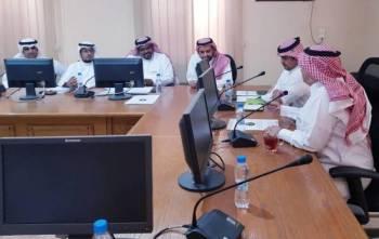 الاجتماع ناقش الإيجابيات والعمل على تعزيزها.