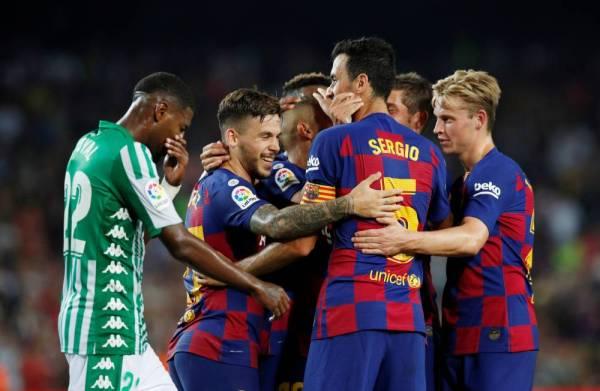 بثنائية غريزمان برشلونة ينهض من كبوته