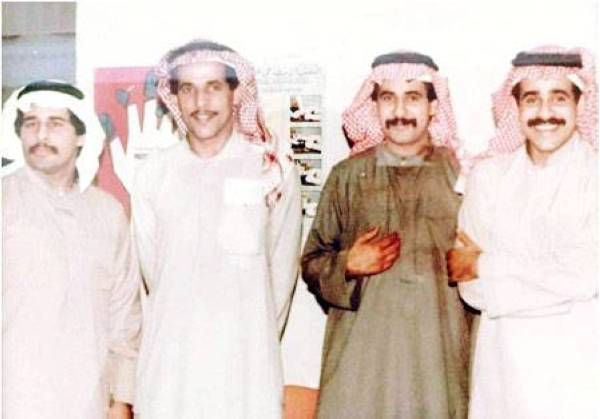 أبناء علي التميمي الأربعة، هشام وطارق وطلال وأحمد.