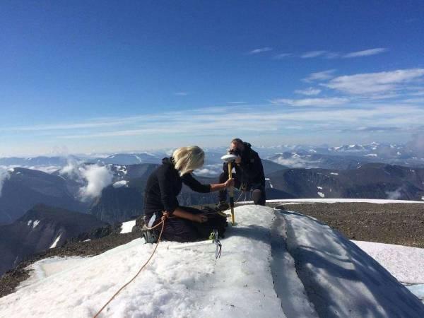 ذوبان الجليد يُفقد أعلى قمة في السويد مركزها الأول بعد أن احتلته 139عاماً