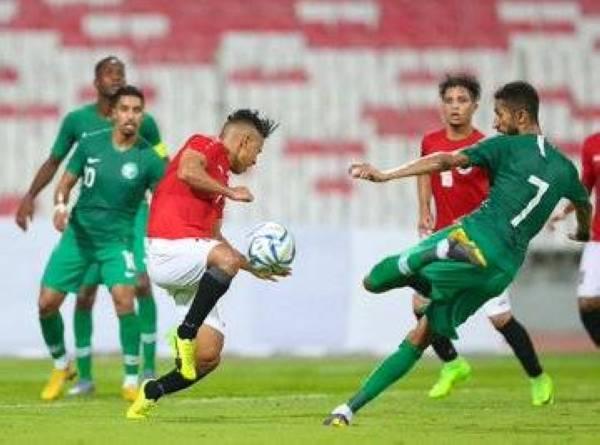 «الأخضر» يتعادل أمام اليمن