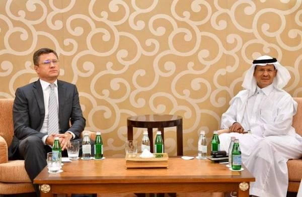 وزير الطاقة يبحث مع نظيره الروسي تعزيز التعاون المشترك بين البلدين في قطاع الطاقة