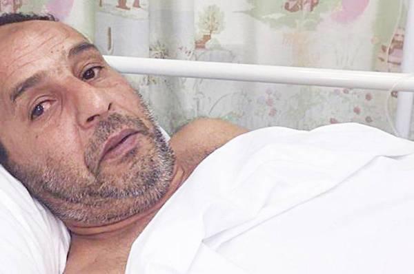 الضحية في المستشفى.