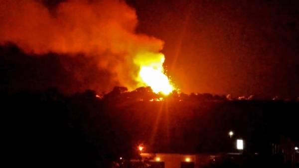 انفجارات بمخزن للجيش التركي في قبرص