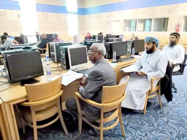 جانب من الدورات التدريبية للفهرس العربي الموحد في تونس.