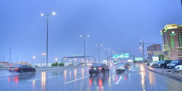 أمطار رعدية على هذه المناطق