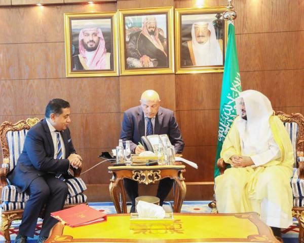 آل الشيخ: السعودية أسهمت بفعالية في نشر التسامح والتعايش بين الشعوب