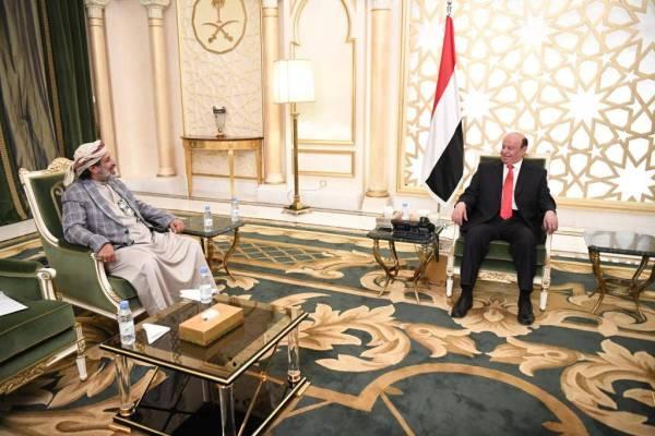 الرئيس اليمني: صفحة المليشيا والانقلاب ستطوى دون رجعة