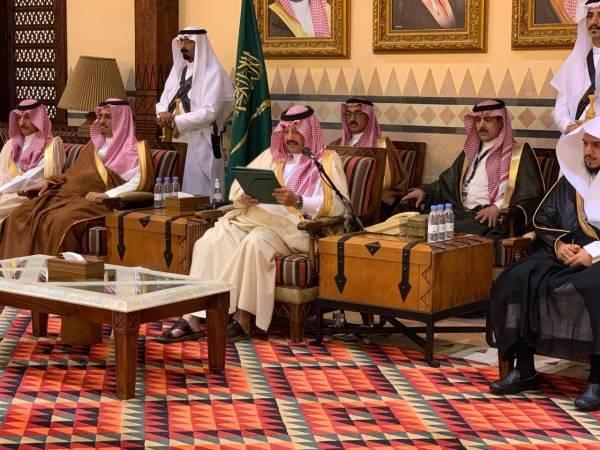 تركي بن طلال يسلّم 72 مواطناً من ذوي الشهداء والمصابين منحهم الملكية