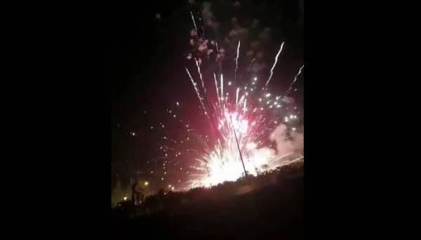 «الترفيه» توضح سبب اشتعال منصة إطلاق الألعاب النارية في الرياض
