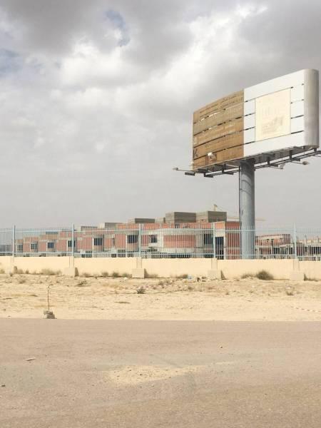 صورة توضح جانبا من مباني مشروع جامعة الطائف المتعثر في سيسد.