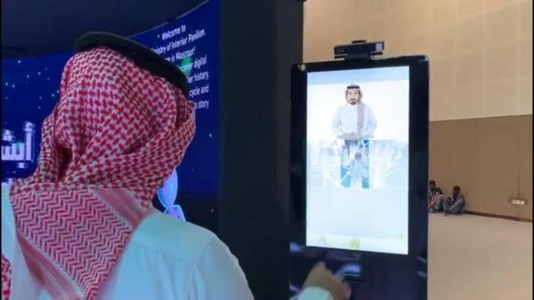 «أشر» تجذب الصم والبكم في جناح وزارة الداخلية بـ «جيتكس» - أخبار السعودية   صحيفة عكاظ
