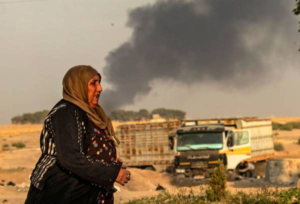 15 قتيلاً بالهجوم التركي على سورية