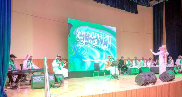 عازفون سعوديون يسجلون أولى مشاركاتهم رسميا.