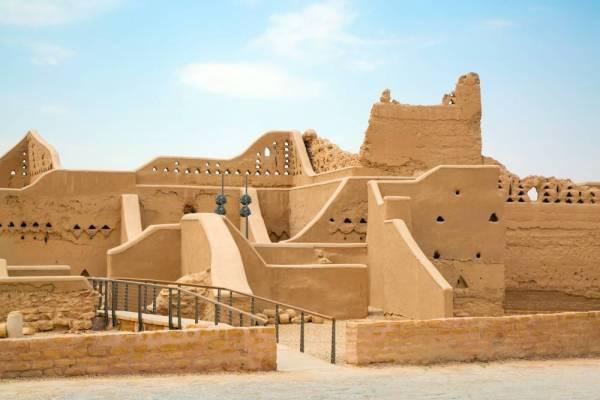 مدينة الدرعية القديمة - الرياض.