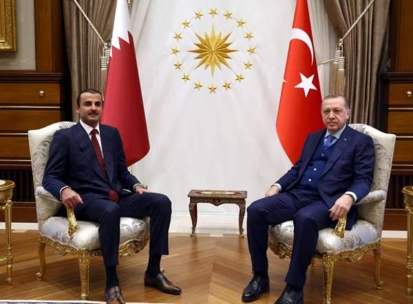 قطر تطعن العرب.. «نبع أردوغان» يجرف «تميم»