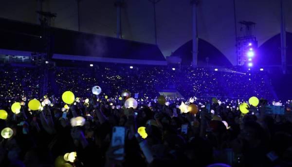 إقبال جنوني على حفلة فرقة «BTS» الكورية بالرياض - أخبار السعودية   صحيفة عكاظ