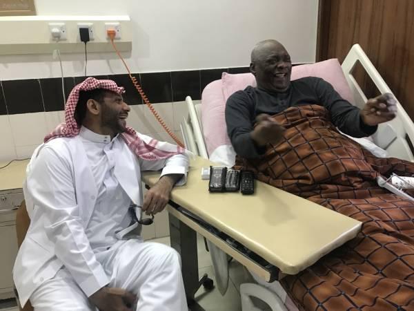 سالم مروان لـ عكاظ : ماجد والنعيمة لم يزوراني