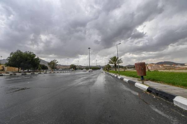 أمطار رعدية ورياح نشطة على هذه المناطق