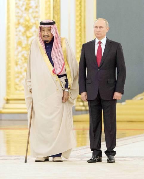الملك سلمان والرئيس بوتين