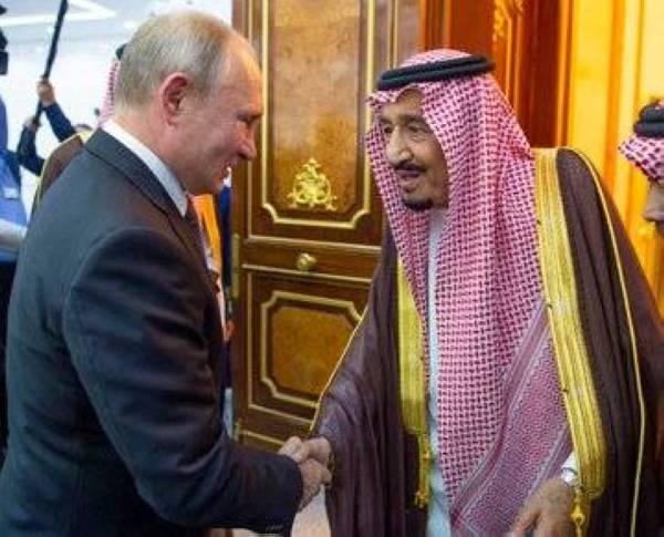 ما هي الهدايا المتبادلة بين الملك سلمان وبوتين خلال زيارة الرئيس الروسي للرياض؟