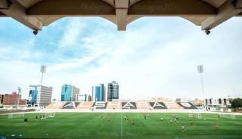 ملعب الشباب جاهز لإستضافة الجولتين السابعة والثامنة.