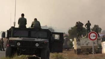 عناصر وقوات من الأمن التونسي