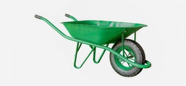 عربة يدوية صغيرة لنقل النفايات ومواد البناء «درداقة».