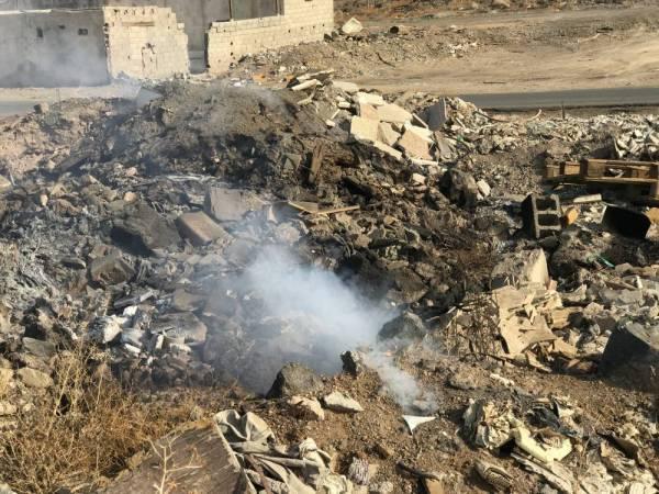 المدينة: أدخنة النفايات المطمورة تعود مجدداً