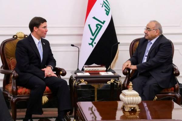 العراق يرفض أي بقاء طويل الأمد للقوات الأمريكية المنسحبة من سورية