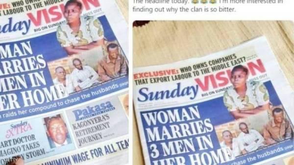 غريس أغوتي تتصدر عناوين الصحف الأوغندية.