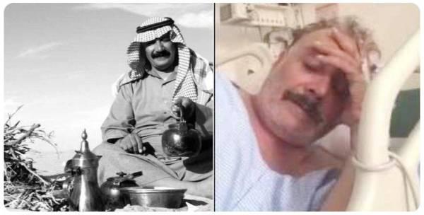 صورة نشرها رواد التواصل لأبو محمد الراشد.
