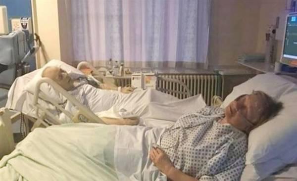 مافيس ودينيس إكلستون خلال مرحلة العلاج